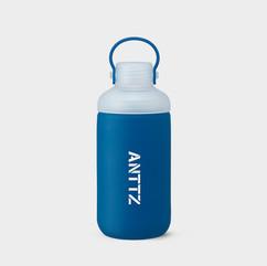 ANTTZ DOUBLE CAP WATER BOTTLE_BLUE_600ml
