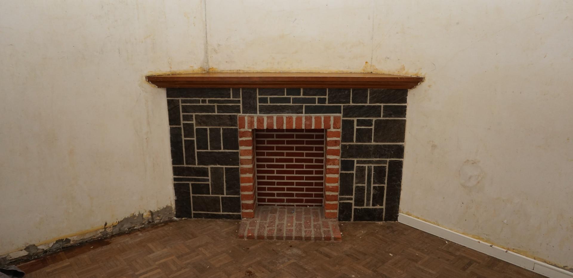 Salon cheminée - Avant