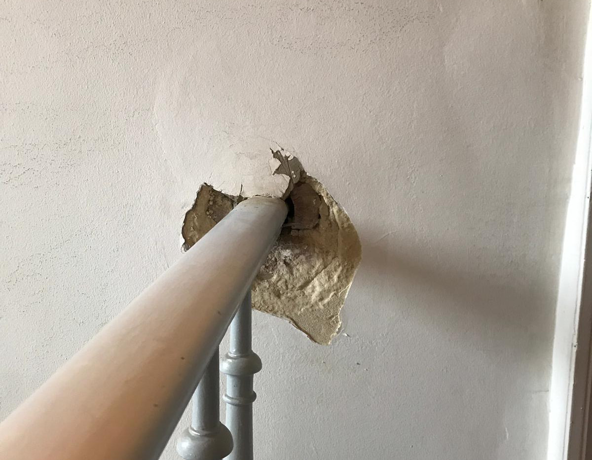 Réparation Mur - Avant