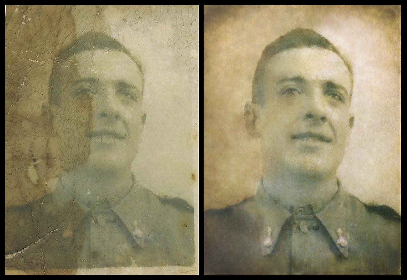 Restauración fotografía