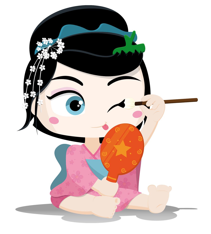 Geisha niña