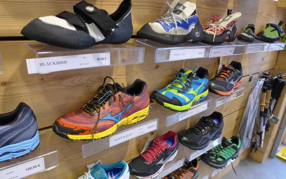chaussure sportwear running randonnée approche