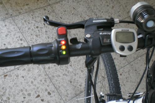 Halbdrehgriff mit Schalter und 3-LED-Anzeige 36 V