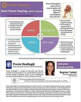 Pranic Healing Course