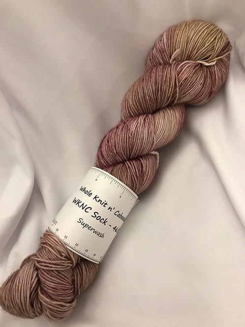 WKNC-Sock 465 Superwash - Cherry Cobbler