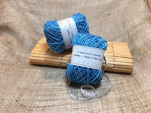 Cotton - Thick n' Thin 160 - Blue Bird