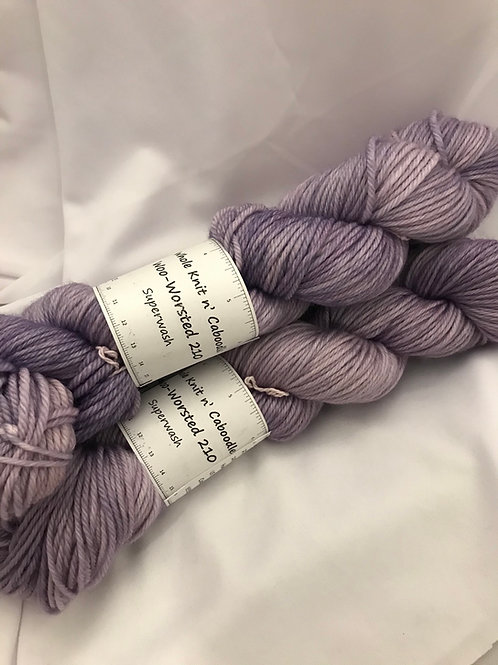 Woo-Worsted 210 - Lilacs Light