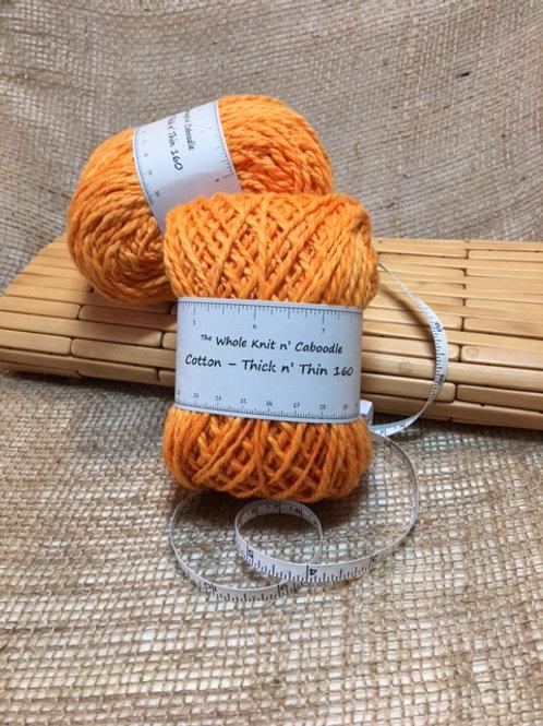 Cotton - Thick n' Thin 160 - Orange you glad!!