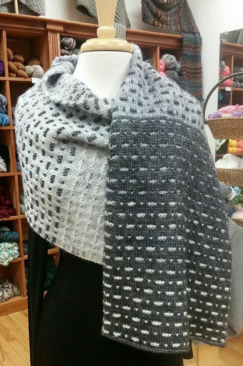 Morse Code Wrap Yarn Kit - Jill Ramos Designer