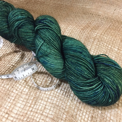 WKNC-Sock 465 Superwash - Emerald