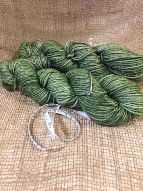 Woo-Worsted 210 Superwash - Green Leaves