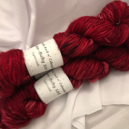 Woo - Bulky 105 Superwash - Winterberry