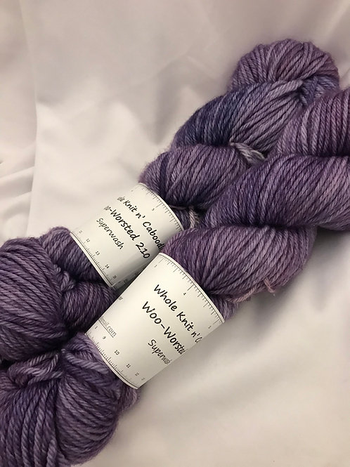 Woo-Worsted 210 - Lilacs