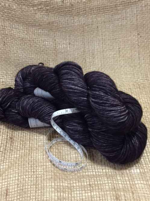 Woo-Worsted 210 Superwash - Black Knight
