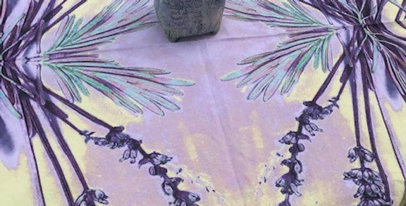 Table Dress and Picnic Cloth - Lavender