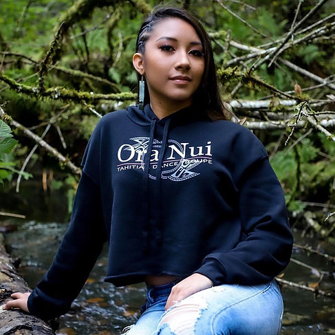 Ora Nui Women's Crop Hoodie