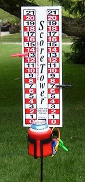 Single ScoreTower - Portable Scoreboard / Drinkholder