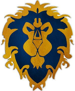 Warcraft Cornhole Decal Sticker