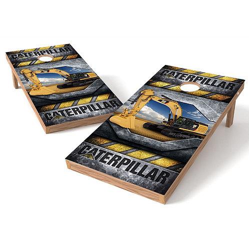 Caterpillar Cornhole Board Wrap