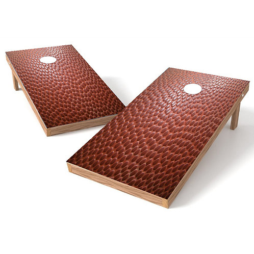 Football Skin Cornhole Board Wrap