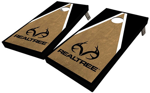 REALTREE TRIANGLE CORNHOLE BOARDS - Corn Bags -Free Shipping