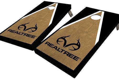 REALTREE TRIANGLE CORNHOLE BOARDS - Corn Bags -Free Shipping