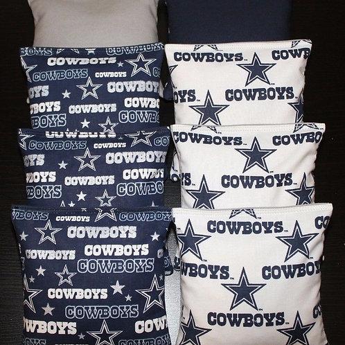Dallas Cowboys Cornhole bags, set of (8)