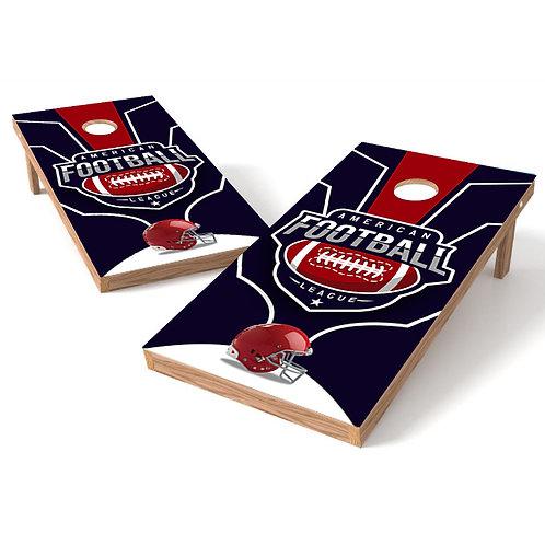 American League Football Cornhole Board Wrap