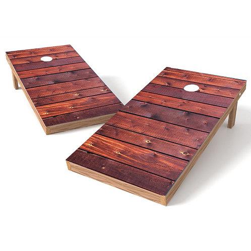 Dark Stain Plank
