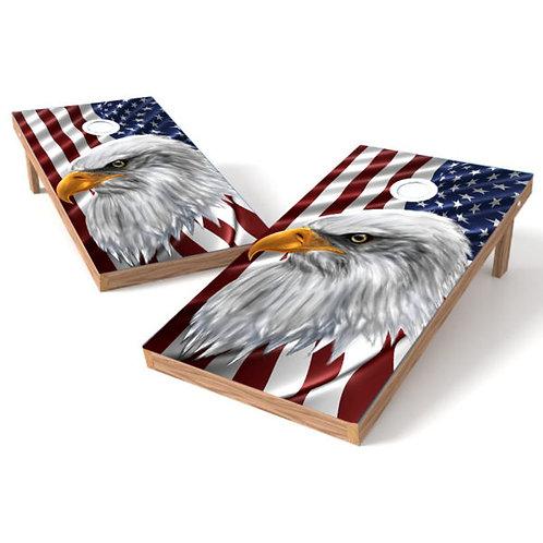 Eagle Eye American Flag