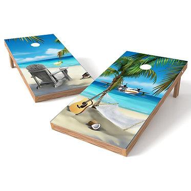 Beach Scene Airplane Hammock or Chair