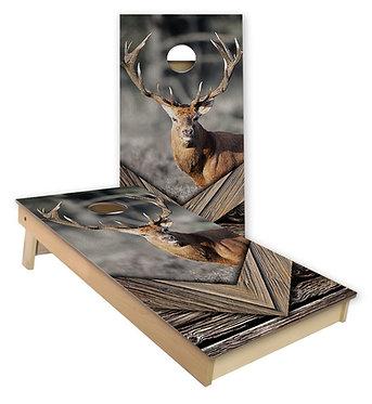Deer 2 Cornhole Wrap Deer Cornhole Decal