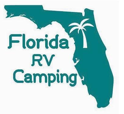 State of Florida Camper Decal Sticker