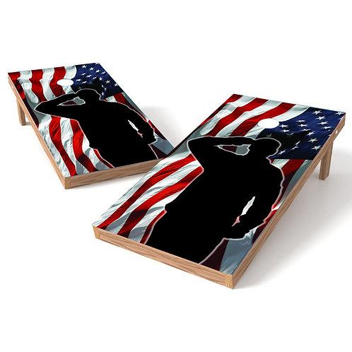 Salute American Flag