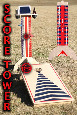 Cornhole Scoremate Score Tower Scoreboard Drink Holder - Free Shipping