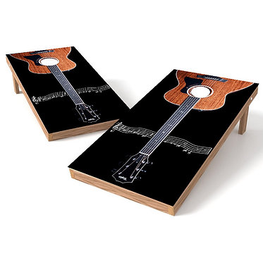 Taylor Guitar 485 Cornhole Board Wrap