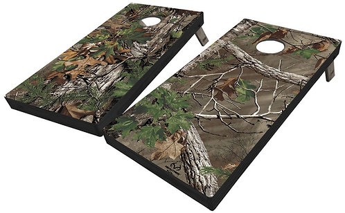 Official REALTREE CORNHOLE BOARD Set - Corn Bags -Free Shipping