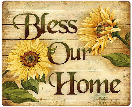 bless our home cornhole decal sticker