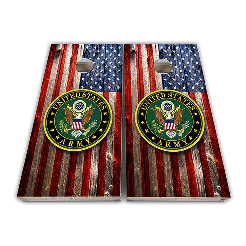 United States Army Cornhole Board Set Baggo Set