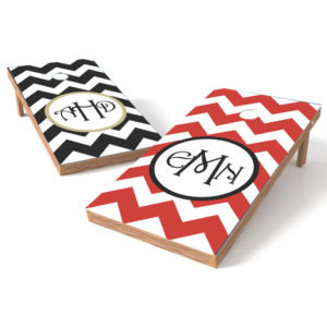 Chevron Wedding - Personalize Your Monogram