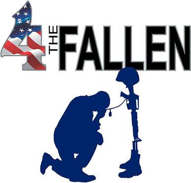 4 The Fallen Soldiers Cornhole Decal Sticker