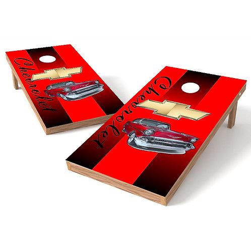 Chevy Classic Cornhole Wrap