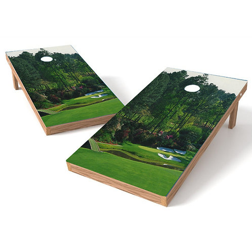 Fairway View Golf Cornhole Wrap