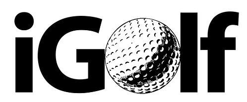 I Golf Cornhole Decal Sticker