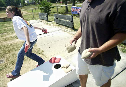 World's best-kept secret Game: Cornhole
