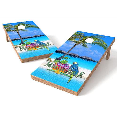 Margaritaville Beach Resort2 Cornhole Wrap