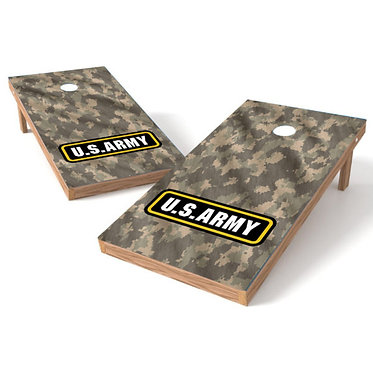 Army Camo Cornhole Wrap