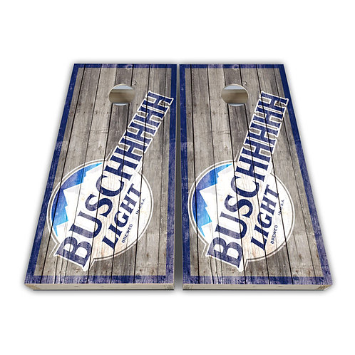 Busch Light Cornhole Board Game Set Bags Game Set