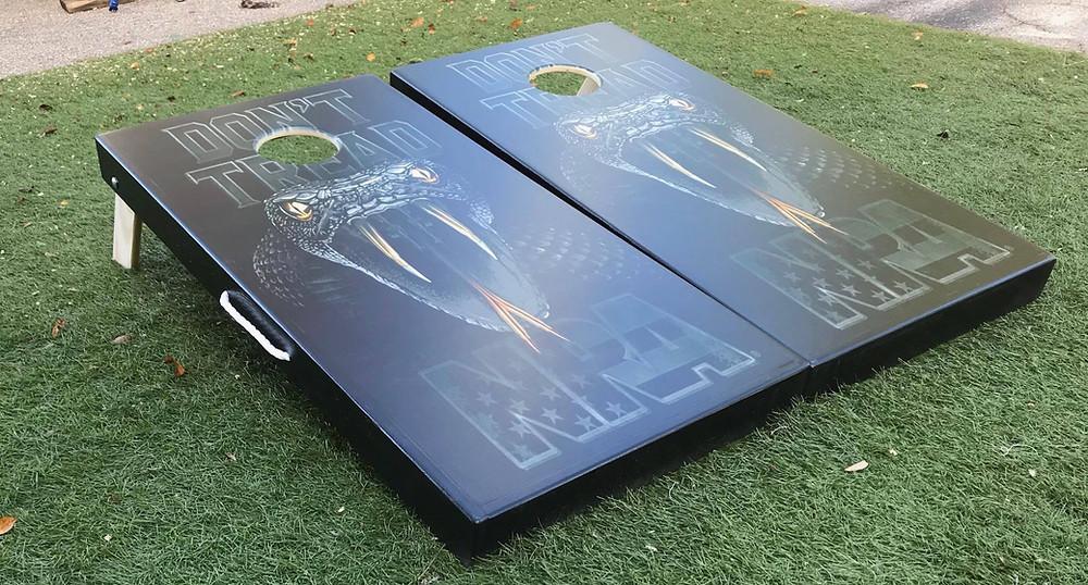Custom Cornhole Boards from www.cornholestop.com