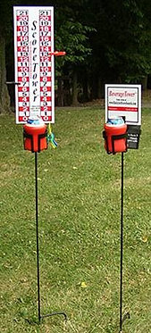 Cornhole Score Tower Combo Set with Drink Holders